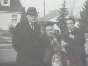 Grandma, Grandpa, me, girls